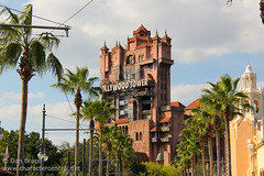Tower of Terror (Disney Dan) Tags: travel vacation usa us spring orlando florida may disney mai disneyworld fl wdw waltdisneyworld dhs sunsetboulevard worldtrip worldtour 2013 disneypictures thetwilightzonetowerofterror disneyparks disneypics hollywoodstudios disneyshollywoodstudios