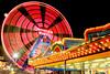 Coney Island Wonder Wheel (Moniza*) Tags: park new york newyorkcity light summer usa moon ny wheel brooklyn night wonder island amusement nikon long exposure illumination ferriswheel coney steeplechase d90 denoswonderwheel moniza