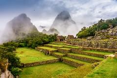 Machu Picchu sacred plaza, Peru