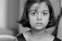 FK-EOS60D-_6268BW (Fahim Kidwai) Tags: new pakistan boy portrait girl kids canon eos handsome 100mm ali headshots islamabad emaan