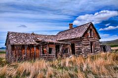 Chesterfield Idaho ghost town (Pattys-photos) Tags: town ghost idaho chesterfield topazadjust