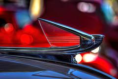 Chevrolet (dmentd) Tags: detail chevrolet bokeh clarity chevy chrome hoodornament topaz adjust