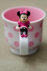 Sitting Around (StoiKNA) Tags: pink white cup mouse mug minnie