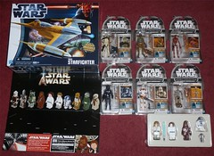 Delivered Today (Darth Ray) Tags: bird set star early amazon kubrick wars figures exclusive naboo hasbro starfighter deliveries buildadroid