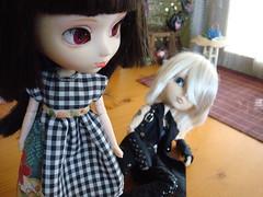 KURO II. 15 Love story (Lunalila1) Tags: doll track dress handmade 15 yuki ii wig link groove pullip kira lovestory fh kuro urasawa arion taeyang stica outfti balastegui jungplaning