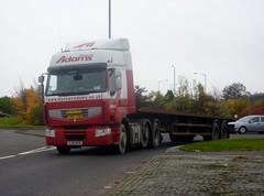 SJ61 HFW (Cammies Transport Photography) Tags: road truck adams north renault lorry shore duncan premium grangemouth sj61hfw