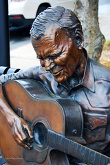 Doc Watson..... (Little Hand Images) Tags: statue bronze nc guitar boone docwatson countrysinger