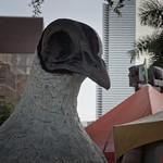 Strange Pigeon Statue in Downtown Miami, Florida thumbnail