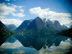 kaln veidrodiai (Dominyka Kukuryte) Tags: trip lake mountains norway mirror
