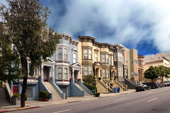 San Francisco - California (Andrea Moscato) Tags: street city usa house building america us strada unitedstates edificio case città statiuniti impressedbeauty andreamoscato