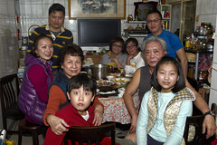 Whole family has dinner together in the Chinese New Year Eve is custom of chinese (Alfred Life) Tags: leica m9 徠卡 leicam9 m9p leicam9p