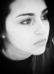 to be or not to be (saudades1000) Tags: portrait blackandwhite face sadness tristeza sad noiretblanc femme teenager pensive brunette melancholy menina pretoebranco youngwoman rosto teenangst melancholia trsitesse