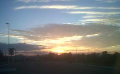 Cae el ocaso (Caneckman) Tags: sol atardecer cielo nubes villahermosa