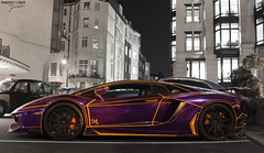 Nasser Tron Lamborghini Aventador (Photocutout) Tags: cars night glow tron lamborghini dorchester nasser supercars photocutout hypercars aventador lp7004