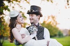 Paul & Danielle Steampunk Wedding (HyperXP.com) Tags: wedding groom bride brooch victorian suit bouquet brideandgroom broach steampunk weddingoftheyear maunselhouse steampunkwedding broachbouquet steampunkbouquet