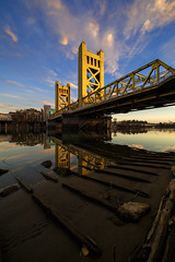 Exposed (boingyman.) Tags: bridge towerbridge landscape cityscape sacramento scape boingyman