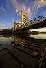 Exposed (boingyman.) Tags: bridge towerbridge landscape cityscape sacramento scape boingyman