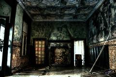 Chateau Rouge 3 (vgta99) Tags: castle dark silent belgique fear ghost hill atmosphere freak horror exploration chteau hdr huy mystic fantme creap monstre urbex urbaine peur