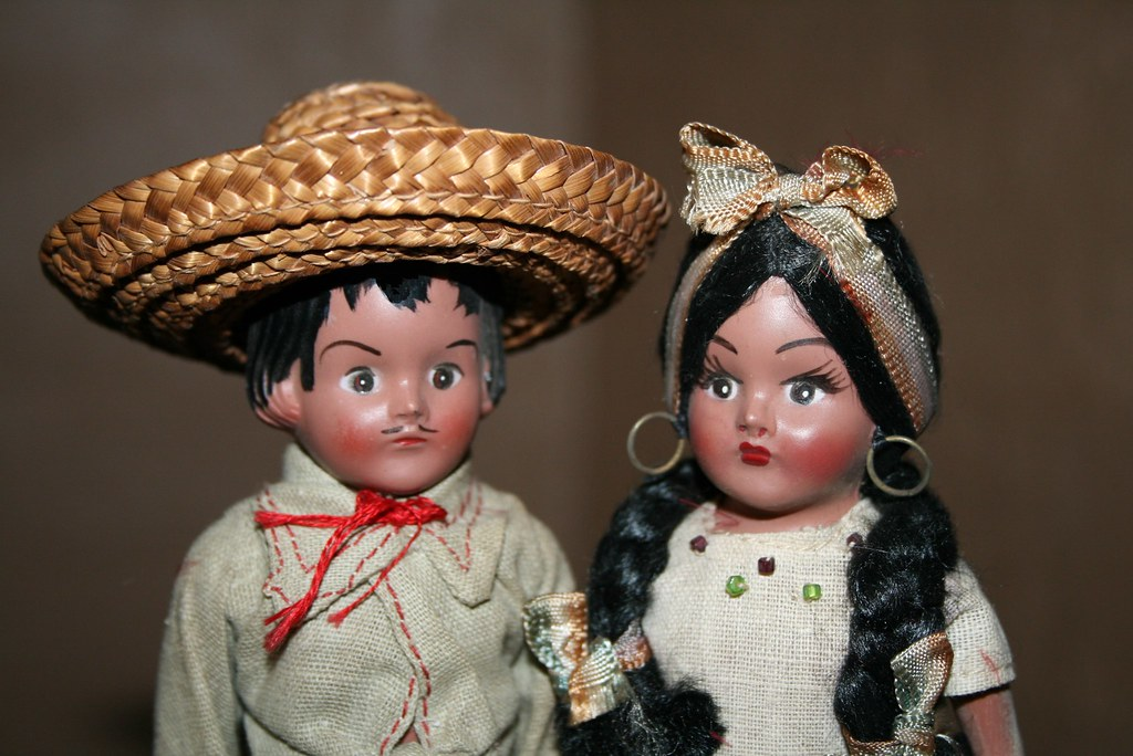 Recommend vintage mexican doll would