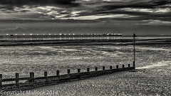 Dawn at Southend Beach-2.jpg (TomTam1) Tags: winter sea england blackandwhite bw beach photoshop sunrise nikon nik riverthames essex southend hdr lightroom colorefex d7000 dfine2 silverefex hdrefexpro2 sharpnerpro
