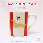 "Dachshund Mug <a style=""margin-left:10px; font-size:0.8em;"" href=""http://www.flickr.com/photos/94066595@N05/13690878764/"" target=""_blank"">@flickr</a>"