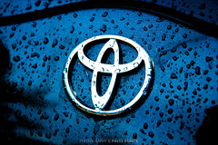 my favorite (pajus79) Tags: water car rain sign contrast drops doors close wash toyota