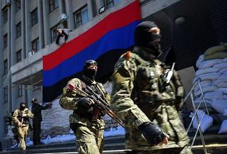 乌克兰危机中俄罗斯展示军队新的战术力量