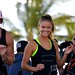 Nina Agdal Leads Cyclists at Model Beach Volleyball South Beach 2015