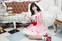 P55_042 (ms09Dom) Tags: cosplay コスプレ 東方project 因幡てゐ 五木あきら itsukiakira