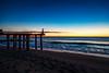 Ocean Grove Sunrise (ajdimauro) Tags: ocean sky beach sunrise coast pier newjersey shore jerseyshore oceangrove oceangrovenj