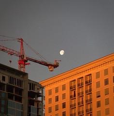 Moon Over Buckhead (HamWithCam) Tags: atlanta moon macro 50mm atl hamwithcam hwc buckhead 5d2
