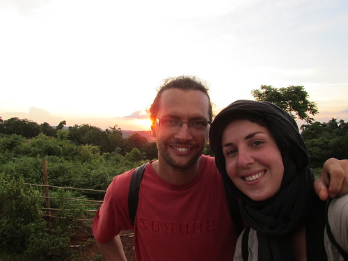 Avec Blaise, Cambodge