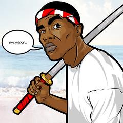 Swim Good (Josh Clews) Tags: ocean music illustration frank vector