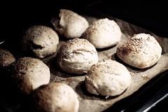 14/365 | bread rolls (lydia linnea) Tags: breadrolls canonef50mmf18ii canoneos1000d
