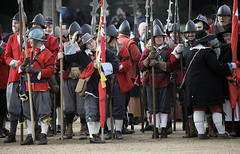 Remember the King's Army:  Parade ground (pg tips2) Tags: war ceremony civil remembrance reenactors