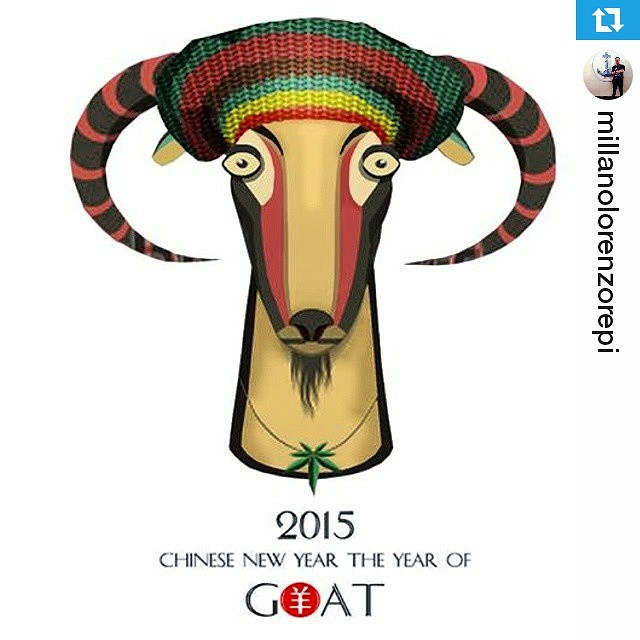 #Repost @millanolorenzorepi ・・・ Happy Chinese New Year #GongxiFatChai #TheYearOfGoat