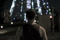 hernan y el arbol de luces (Tom Medina photography) Tags: photography medina tomo
