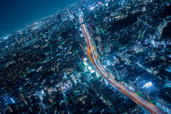 Night View - Roppongi Second Style - (Quince_tan) Tags: tokyo roppongi  nightview   tokyocityview  leitzsummilux114352nd leicamtyp262 20160409