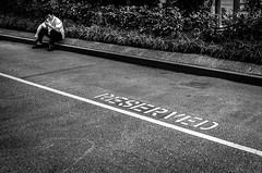 [ - MY PRIVATE SPACE  - ] (Emilien ETIENNE) Tags: street portrait urban blackandwhite bw monochrome publicspace blackwhite nikon singapore raw faces noiretblanc candid streetshots streetphotography streetlife nb sin emotions reserved ligne photojournalist portaiture singapoure whiteblack candidportrait photoderue streetphotograph photojournalisme scenederue streetstories donotpass peopleinthestreet therealstreetphotography streetcomposition candidstreetphotography candidsnapshot rawstreetphotography scenefromthestreet scenedevie travelphotojournalism d7000 nikond7000 espacepriv myprivatespace emilienetienne