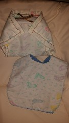 Homemade Cloth Diaper & Bib Set (Lyn Lomasi) Tags: baby homemade cloth diapers infants essentials bibs adjustable