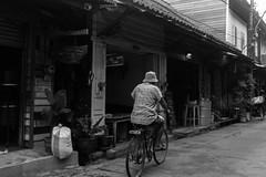 Chanthaburi, Thailand (Quench Your Eyes) Tags: travel thailand asia southeastasia cyclist thai oldtown biketour chanthaburi elderlycyclists mueangchanthaburidistrict sukhaphibanraod