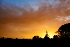 Out the front door (Bryan Gellatly) Tags: sunrise southauckland