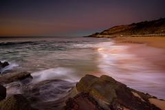 White Water and Golden Sand (Paul Hollins) Tags: ocean seascape beach sunrise australia newsouthwales aus newcastleeast nikon1635mmf4 nikond750