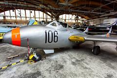 SE-DXX De Havilland DH-115 Vampire T55 (Andreas Eriksson - VstPic) Tags: winter de this vampire swedish were airforce vampires t55 repainted havilland dh115 sedxx
