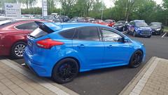 2016 Ford Focus RS (>Tiarnn 21<) Tags: uk blue ford focus pat rs kirk
