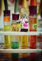 From my Heart and from my Hand (EliMalone) Tags: dead toy lab university day lego zombie hard study gal chemistry tiny laboratory cheerleader reagents chemist regular