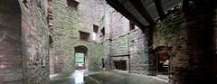 Edzell Castle (14) (arjayempee) Tags: castle scotland angus fortress towerhouse northesk forfarshire edzellcastle glenesk earlofcrawford lindsayofedzell courtyardcastle mounthpasses edzellcastlegardens av6a538285stitch stirlingofglenesk baronyofglenesk