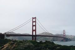 Golden Gate Bridge (grapesoda_76) Tags: sf sanfrancisco california city travel bridge sunset vacation urban san francisco streetphotography landmark goldengatebridge fullhouse californiavacation goldgate
