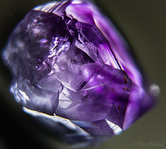 Amethyst (Don White (Burnaby) Thanks for the Three Million V) Tags: macro bokeh amethyst quartz extensiontube 26mm sigma19mmf28