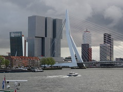 Rotterdam Skyline (harry_nl) Tags: tower netherlands skyline rotterdam nederland kpn erasmusbrug 2016 derotterdam